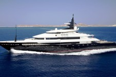 The Oceanco Motor Yacht ALFA NERO - Underway